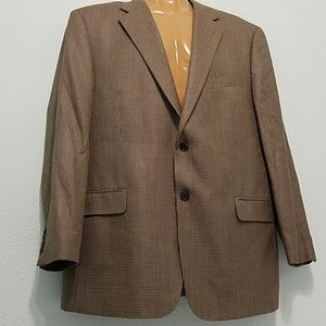 Joseph Abboud  Size 44 R Silk Wool Sports Coat